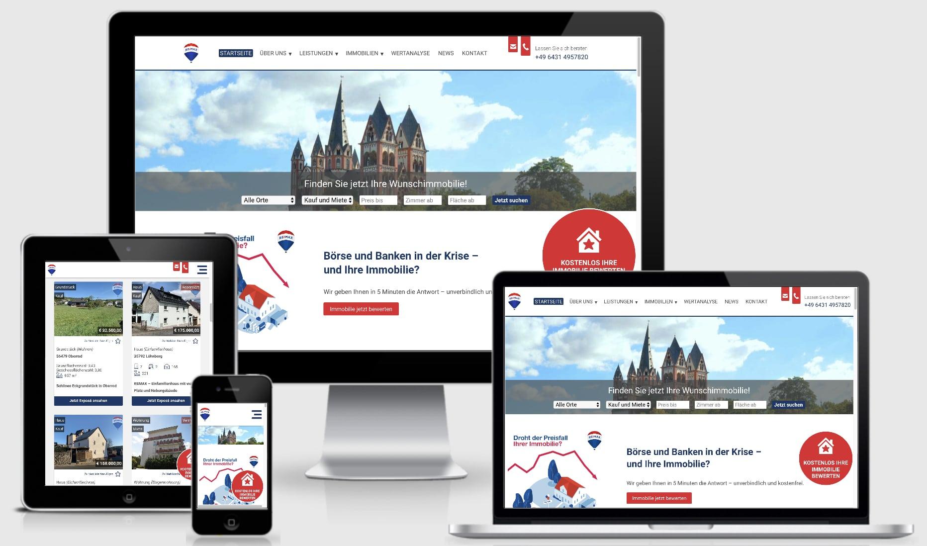 Die Profi-Webseite für Immobilienmakler auf WordPress-Basis